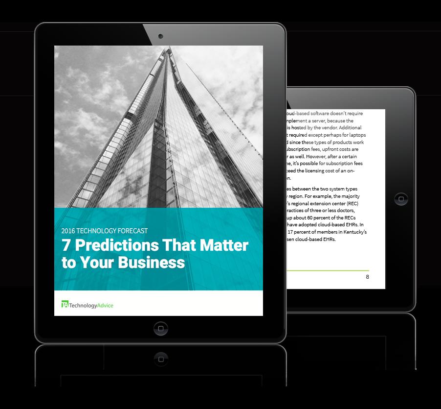 2016 Tech Predictions iPad