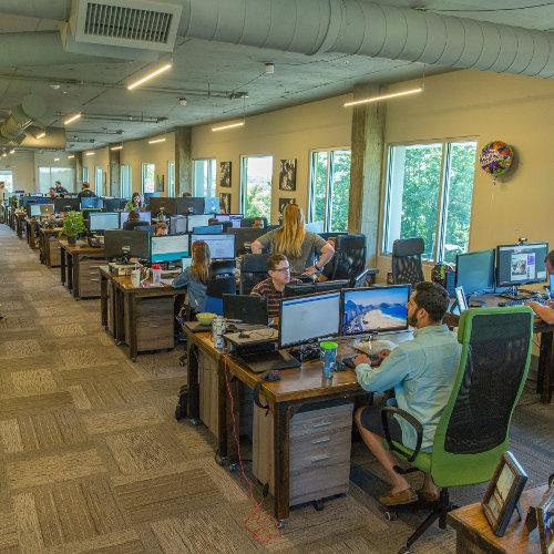TechnologyAdvice work environment