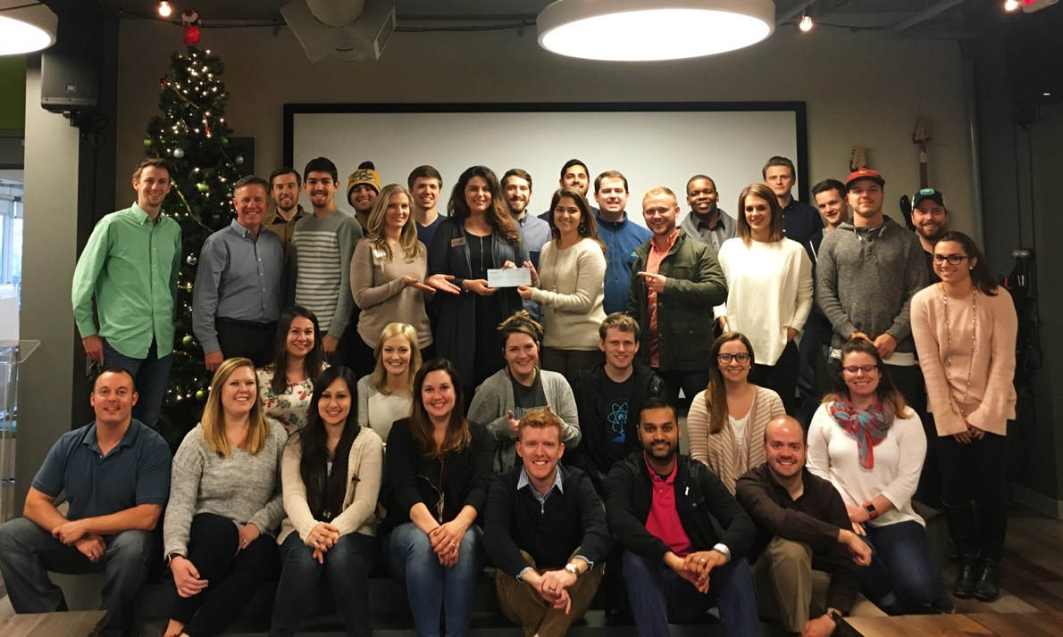 TechnologyAdvice gives back to Safe Haven with a donation during the holiday season