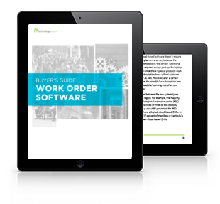 Work Order Software Buyer's Guide Tablet