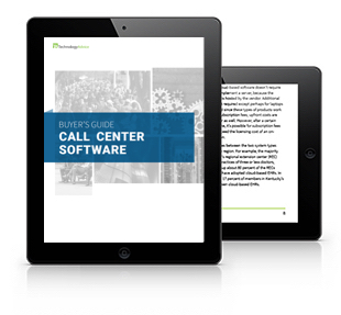 Call Center Software Buyer's Guide Tablet