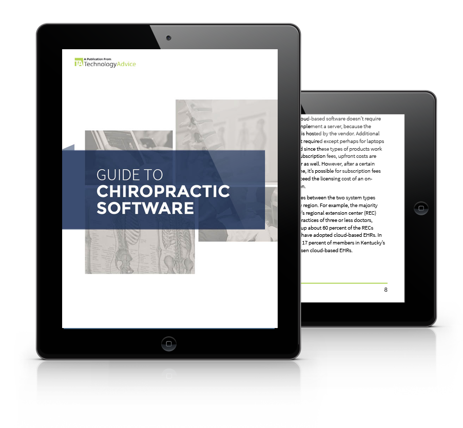 Chiropractic Software Buyers Guide