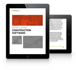Construction Software Buyer's Guide Tablet