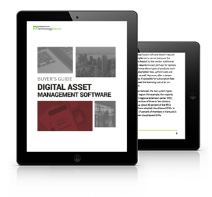 Digital Asset Management Software Guide Tablet