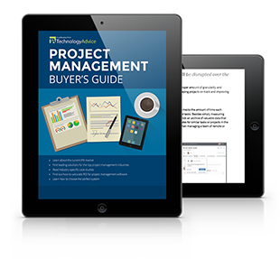 Buyer's Guide to Project Management Software PDF inside iPad