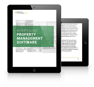 Property Management Software Buyer's Guide Tablet