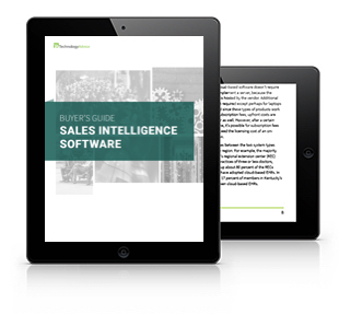 Sales Intelligence Software Buyer's Guide (Tablet)