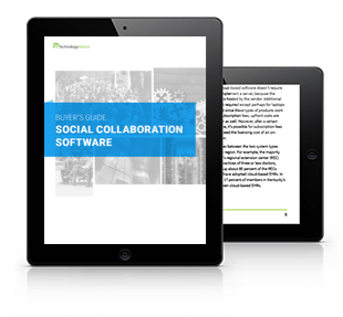 Social Collaboration Software Buyer's Guide (Tablet)