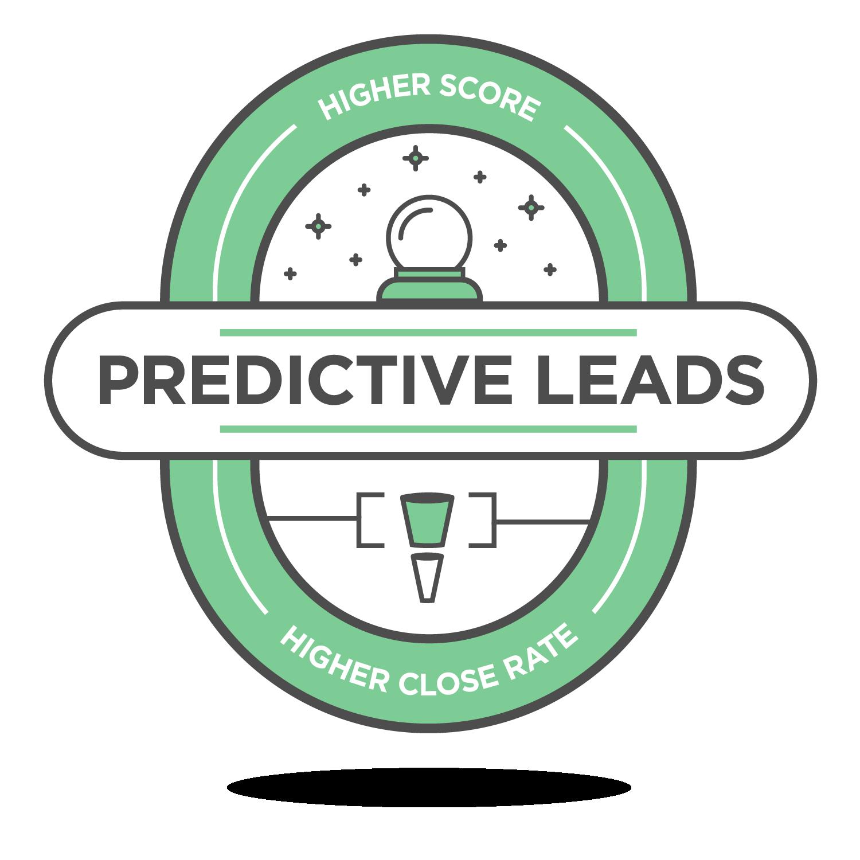 predictive leads badge icon