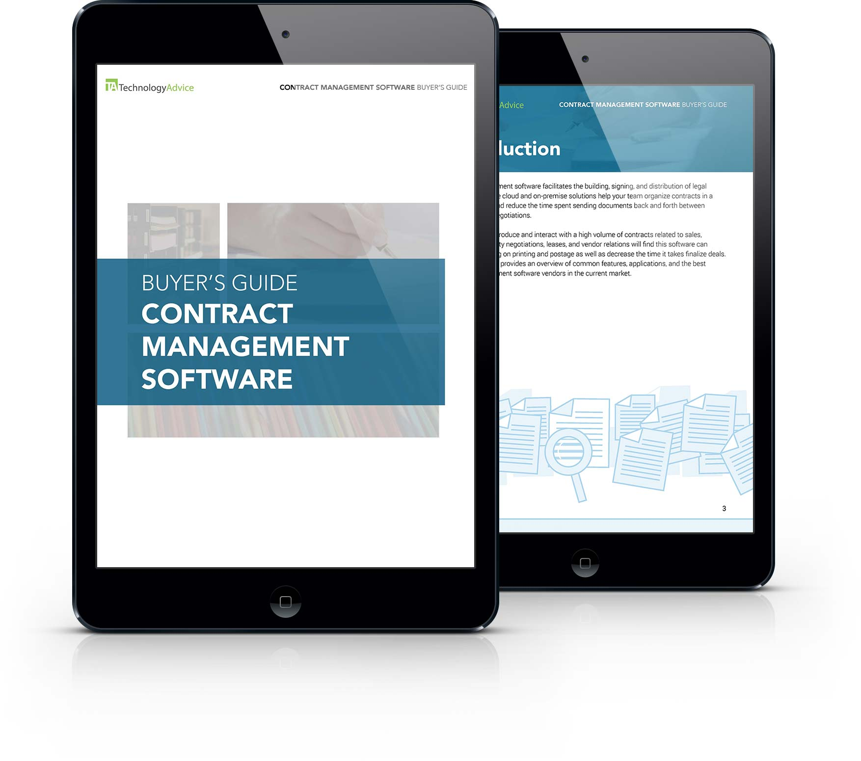 Contract Management Software Buyer's Guide iPad