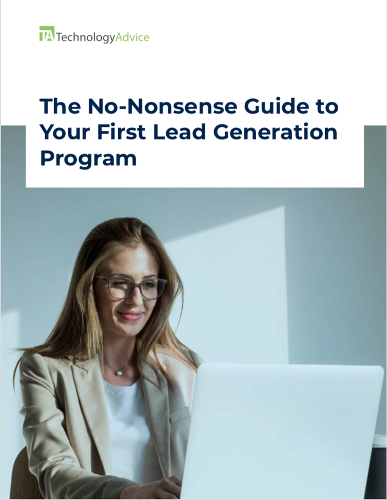 TechnologyAdvice Research Guide: The No-Nonsense Guide to Your First Lead Generation Program