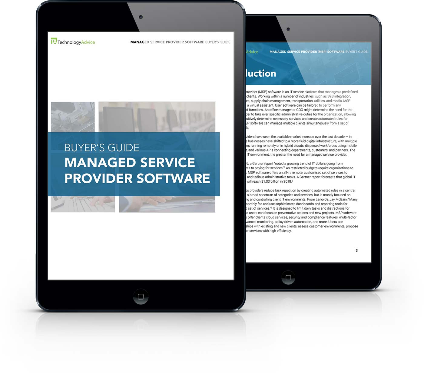 MSP software buyer's guide iPad