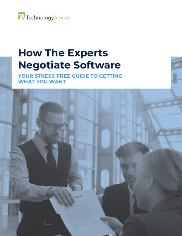How the Experts Negotiate Software