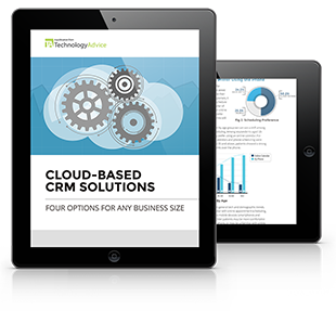 Cloud-Based CRM Software PDF inside iPad
