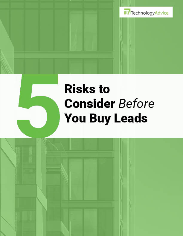 TechnologyAdvice Research Guide: 5 Risks to Consider Before You Buy Leads