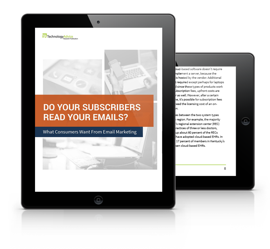 Study: Do your subscribers read your emails? PDF inside iPad