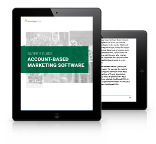TechnologyAdvice ABM Software Guide Tablet