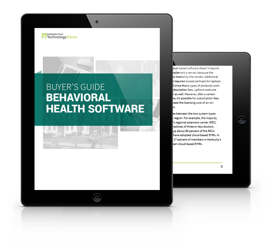 Behavioral Health Software Buyers Guide