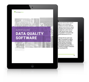 Data Quality Software Buyer's Guide (Tablet)