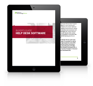 Buyer's Guide to Helpdesk Software Tablet