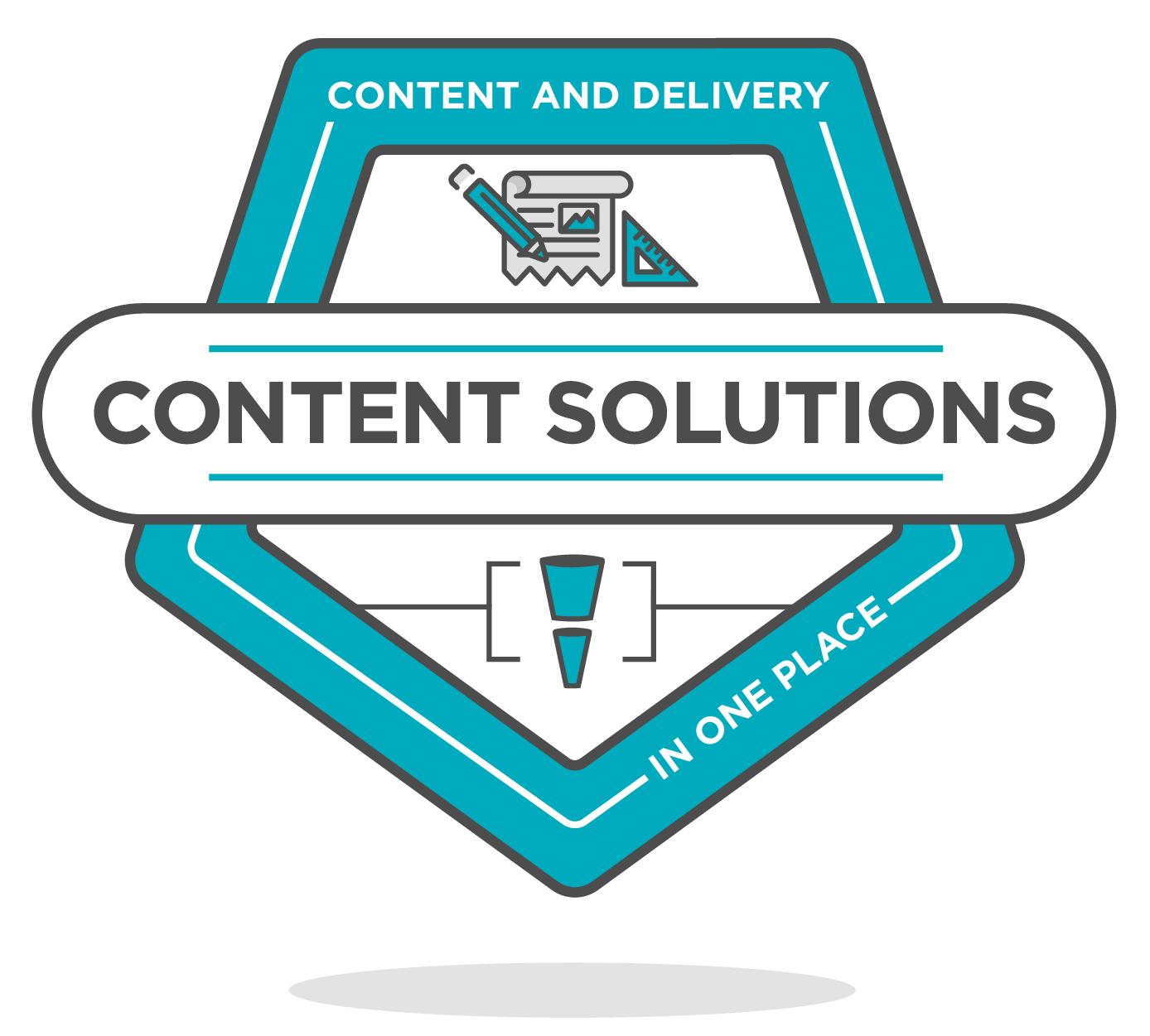 content solutions badge icon