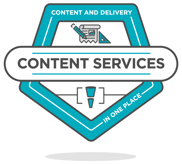 content services badge icon