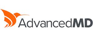 AdvancedMD logo.
