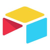Airtable collaboration software logo.