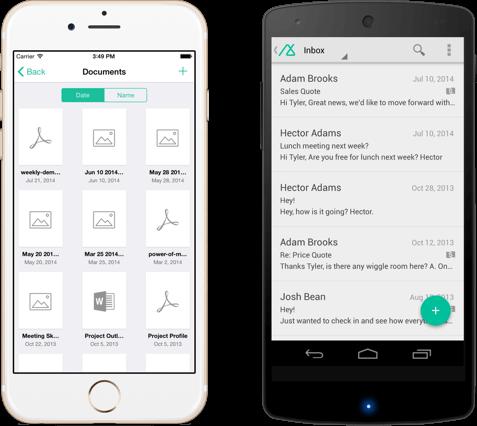 Base mobile CRM platform