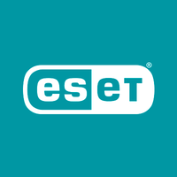 ESET antivirus software logo.