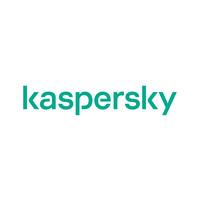 Kaspersky antivirus software logo.