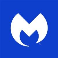 Malwarebytes antivirus software logo.