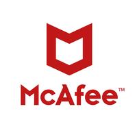 McAfee MVISION antivirus software logo.