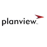 Planview logo.