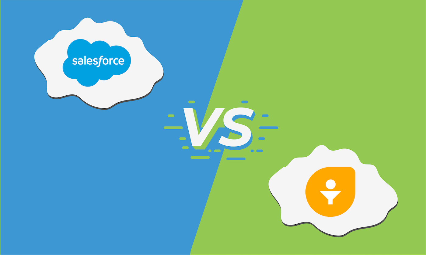 compare features of salesforce vs. freshsales.