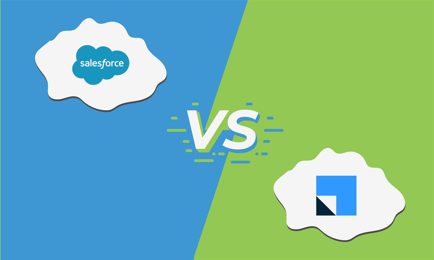 Compare Salesforce CRM vs. LeadSquared CRM