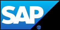 SAP ERP logo.