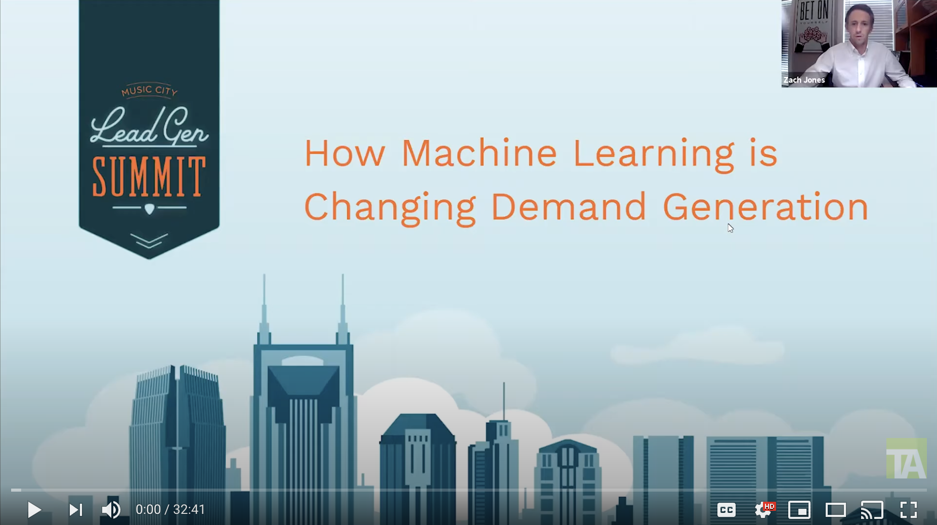 TechnologyAdvice Video Recording: How Machine Learning is Changing Demand Generation