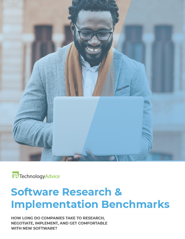 TechnologyAdvice Research and Implementation Benchmark Report 2020.