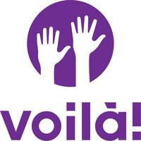 Voila! employee scheduling logo.