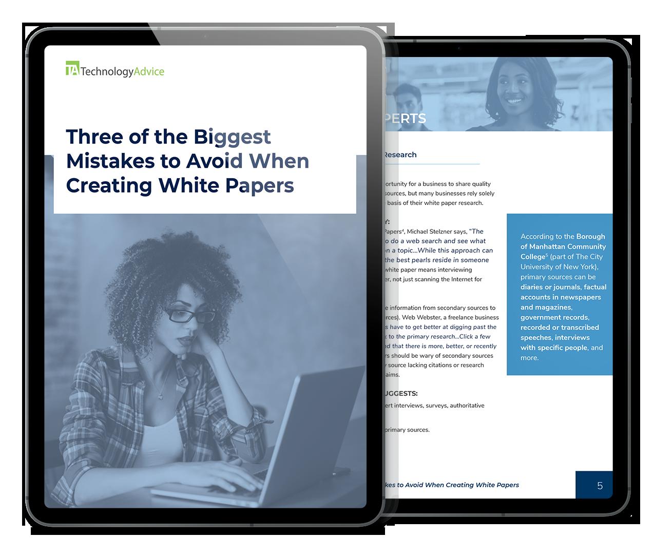 3 White Paper Mistakes to Avoid