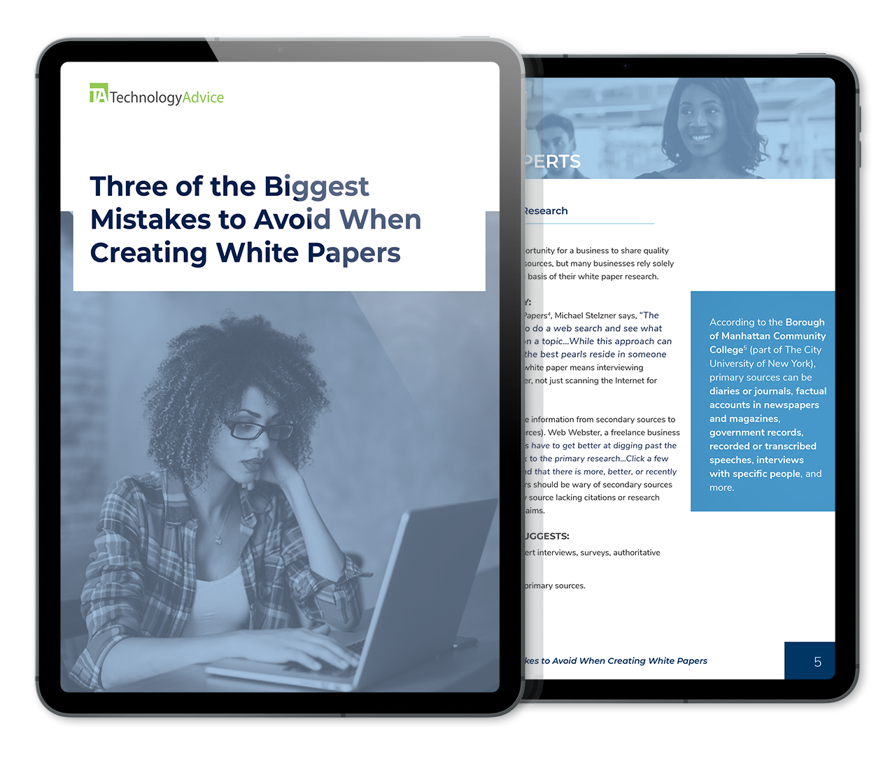 3 White Paper Mistakes to Avoid