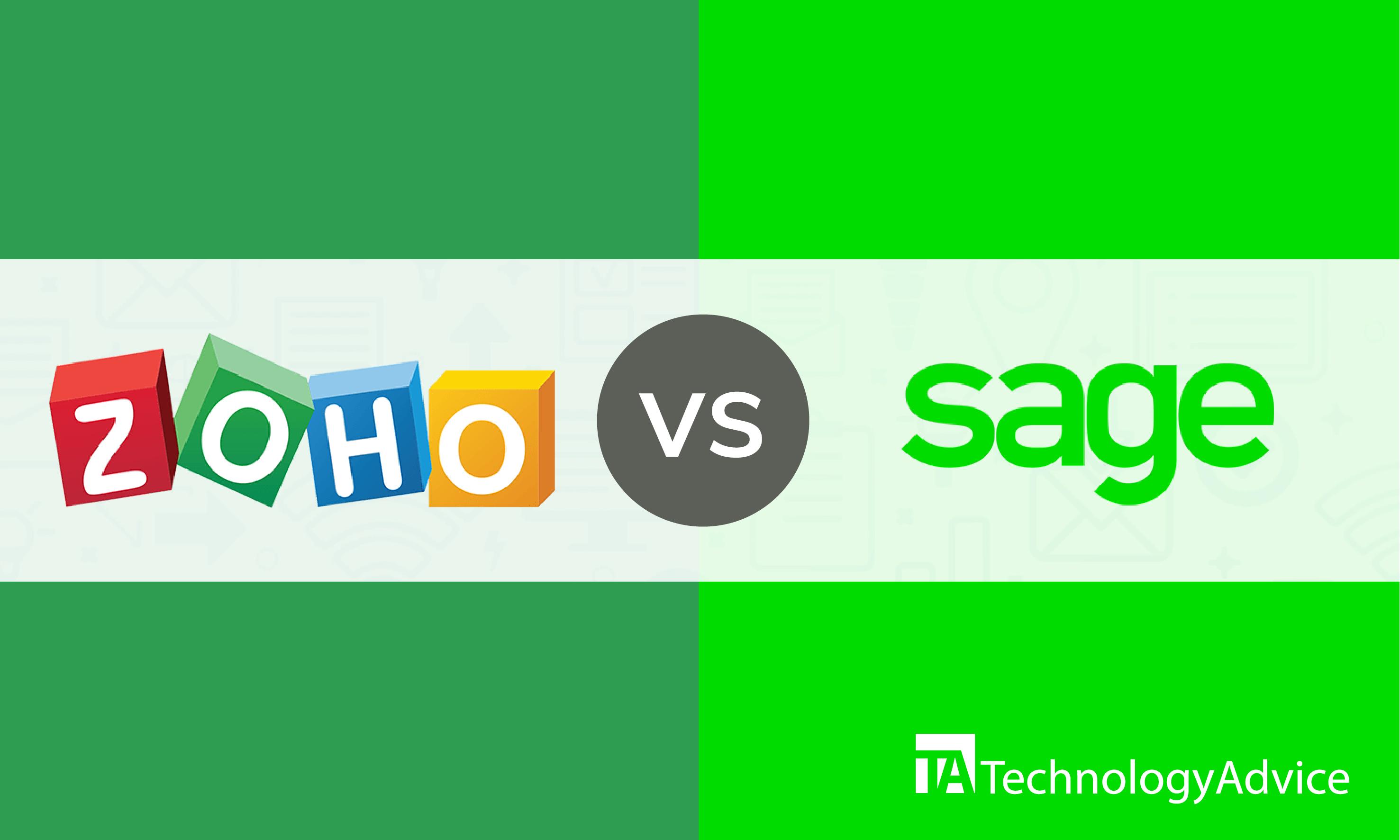 Comparing zoho vs. sage crm