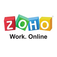 Zoho dashboard software.